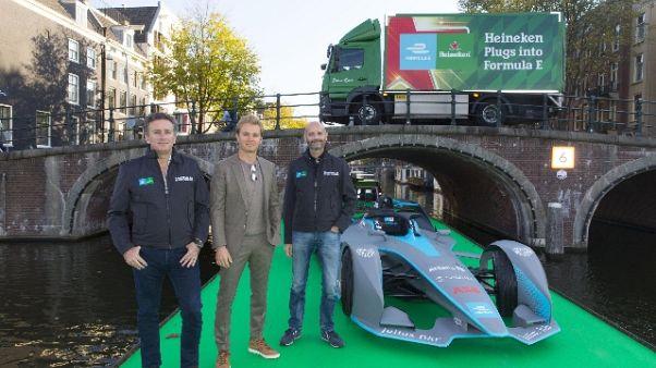 Heineken 'correrà' nella Formula E