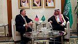 وزير الخارجية الأمريكي اجتمع مع نظيره السعودي