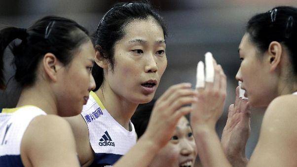 Mondiali volley: semifinale Italia-Cina