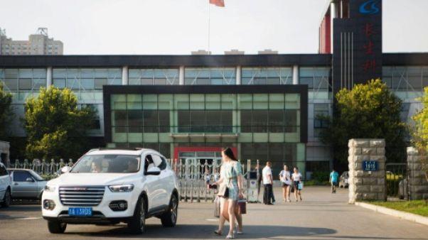 Scandale de vaccins en Chine: amende record contre un labo