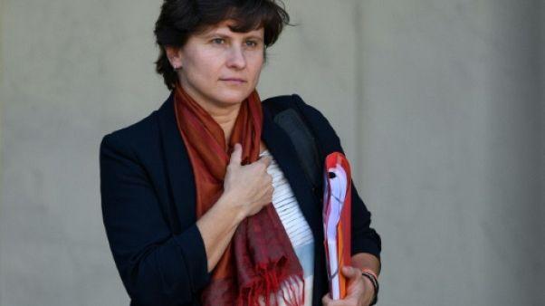 La ministre des Sports Roxana Maracineanu, le 10 octobre 2018 à l'Elysée