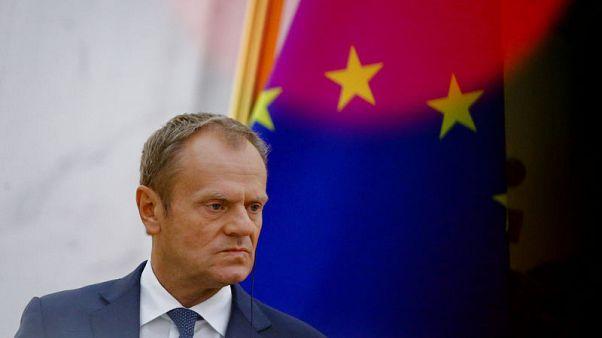 EU's Tusk hopes euro zone reform progress possible despite Italy