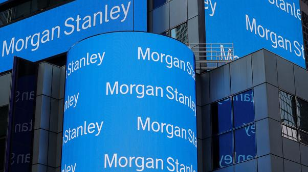 Equity trading strength boosts profits at Morgan Stanley, Goldman