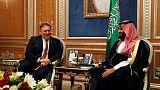 أمريكا: بومبيو وولي عهد السعودية يتفقان على أهمية التحقيق في اختفاء خاشقجي