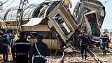 Maroc: le déraillement d'un train fait au moins sept morts et plus de 80 blessés