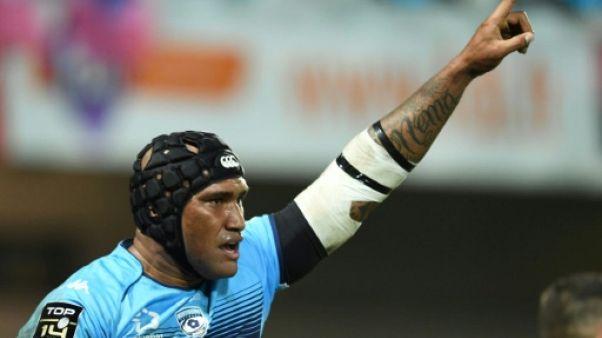 Rugby: A Montpellier, Nadolo absent trois mois, Immelman un et demi