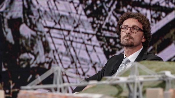 Toninelli, governo controllore antimafia
