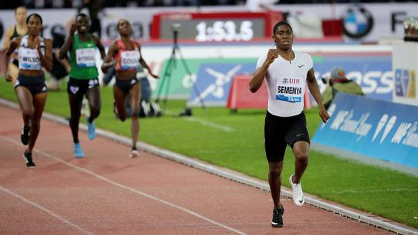 Athletics - IAAF delays imposing gender rule due to Semenya challenge