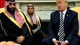 ترامب: ولي العهد السعودي نفى معرفته بما حدث في القنصلية