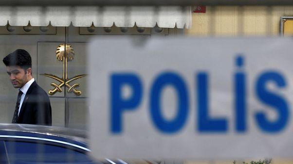 الشرطة التركية تقول لن تفتش القنصلية السعودية في اسطنبول يوم الثلاثاء