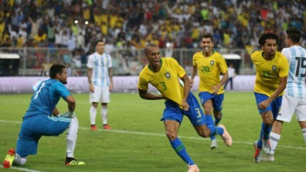 """Brésil-Argentine: un triste """"Clasico"""" en Arabie"""