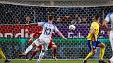 Sweden's Guidetti ends goal drought in 1-1 Slovakia draw