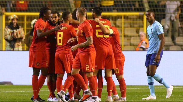 جروينفيلد يسجل أول أهدافه مع هولندا في مباراة ودية أمام بلجيكا