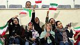 Iran: une centaine de femmes admises au stade pour un match de football