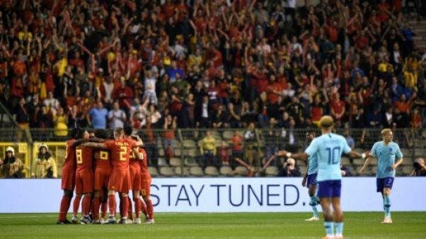 Amical: Belgique-Pays-Bas, nul logique dans un gentil derby