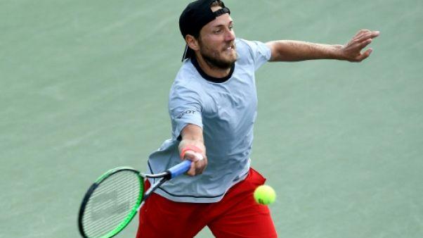 Lucas Pouille, le 1er septembre à l'US Open à New York