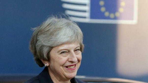 La Première ministre britannique Theresa May le 17 ocobre 2018 à Bruxelles