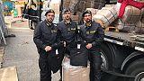 Sequestrate 13mila giacche contraffatte