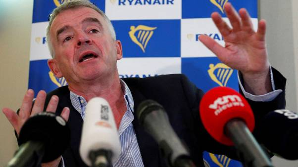 Hard Brexit could ground Ryanair planes for three weeks - CEO