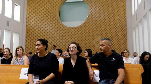 Israel's top court weighs appeal by barred U.S. student