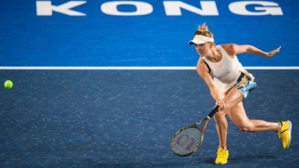 Tennis: Pliskova éliminée à Moscou, Svitolina qualifiée pour le Masters