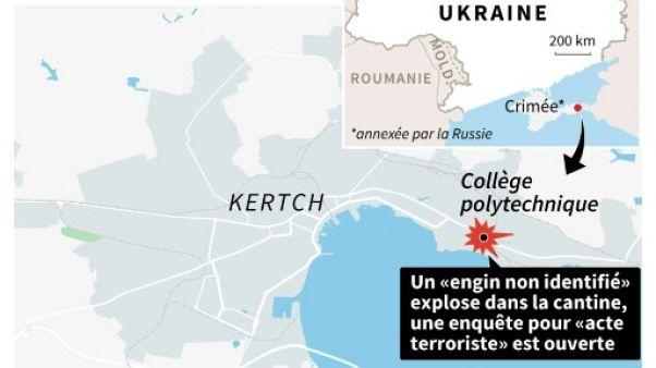 Crimée : explosion dans un collège