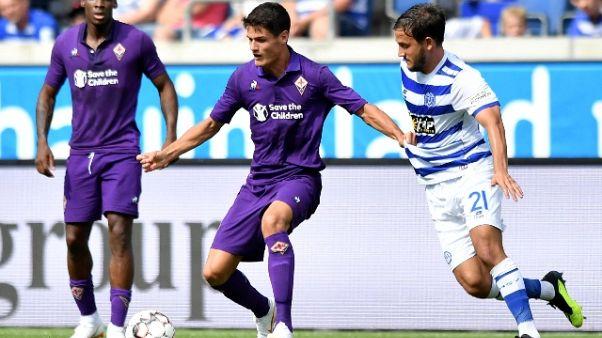Fiorentina: Norgaard, ginocchio ko