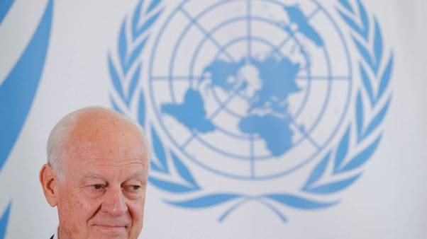 U.N. Syria envoy Staffan de Mistura to step down at end of November