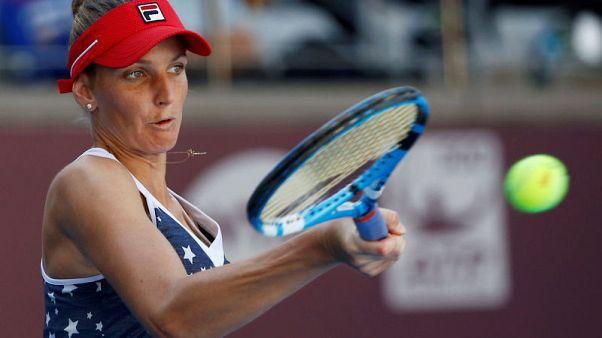 Pliskova seals WTA finals spot despite defeat in Moscow