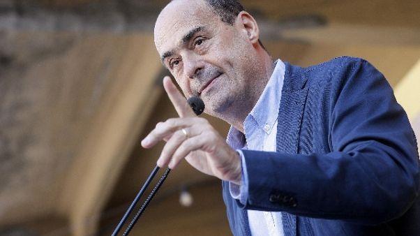 Pd: Zingaretti, non andrò a Leopolda