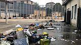 Migranti appiccano fuoco a Cpr Torino