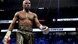 Boxe/MMA: Mayweather prêt à répondre au défi de Nurmagomedov
