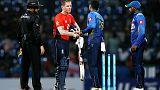 Morgan, Rashid shine as England win rain-hit third ODI