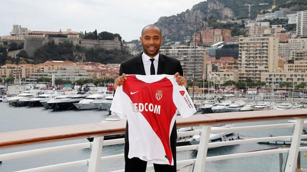Henry starts dream job at Monaco