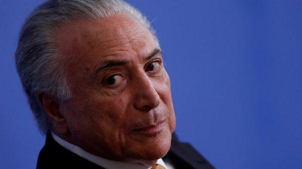 محامو الرئيس البرازيلي يطلبون من المحكمة العليا إلغاء اتهامات الشرطة له بالفساد