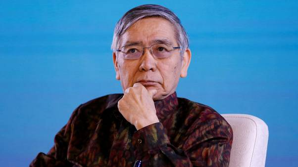 BOJ's Kuroda offers slightly brighter view on inflation
