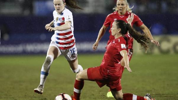 Soccer - U.S. Women claim CONCACAF title over Canada