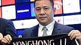 Chine: l'ex-propriétaire de l'AC Milan placé sur liste noire