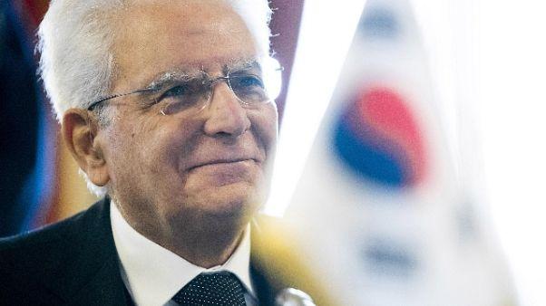 Mattarella, politica sia responsabile