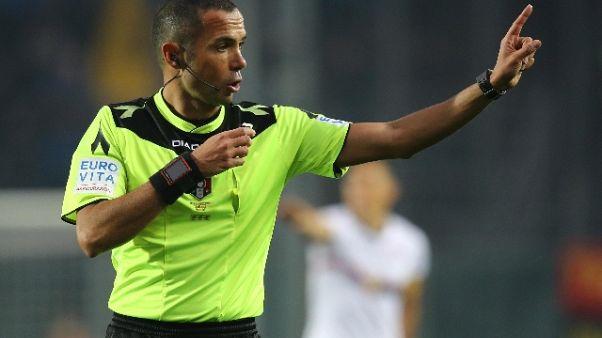 Serie A, arbitri 9/a giornata