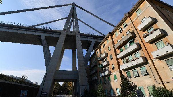 Dl Genova: pronti emendamenti governo