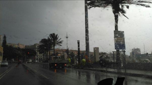 Maltempo Sardegna: allerta ora è gialla