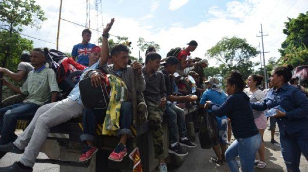 Migrants: Trump menace de fermer la frontière avec le Mexique