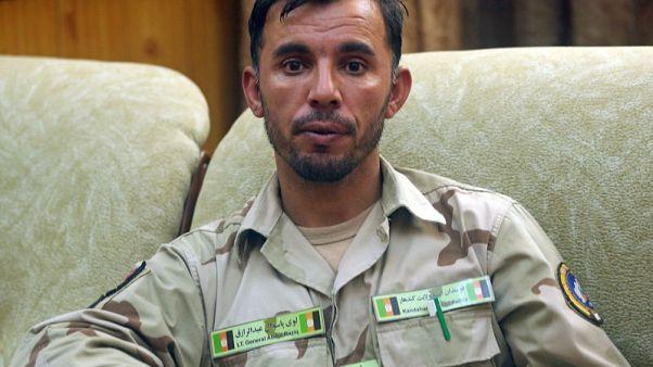 Top Afghan police chief killed in shooting, U.S. general unhurt