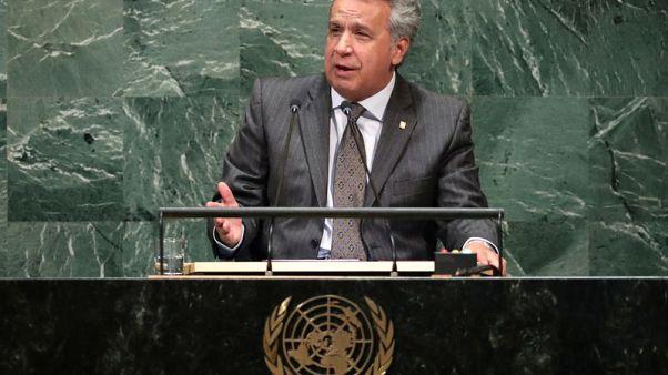 Ecuador expels Venezuela ambassador after official says Moreno lied