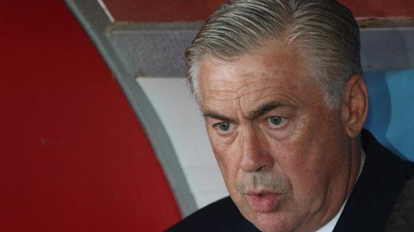 """Ancelotti: """"A Napoli si sta in paradiso"""""""