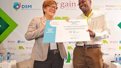 Kennie-O Cold Chain Logistics from Nigeria Crowned Champion of Africa's First Scaling Up Nutrition Pitch Competition