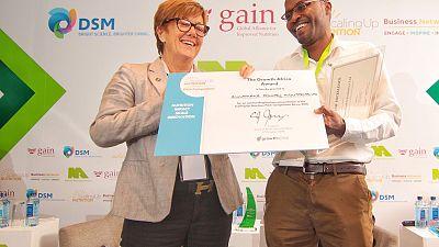 Kennie-O Cold Chain Logistics du Nigeria remporte le premier concours Scaling Up Nutrition Pitch Competition en Afrique
