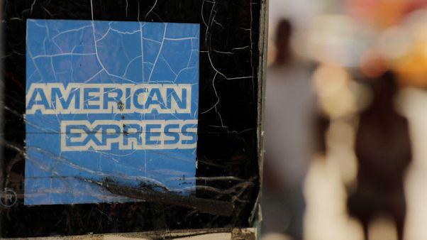 American Express third-quarter profit jumps 22 percent