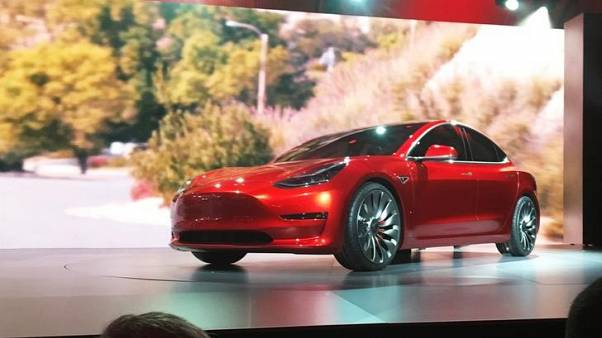 Tesla launches new $45,000 Model 3